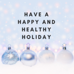 Staying Healthy During the Holidays!
